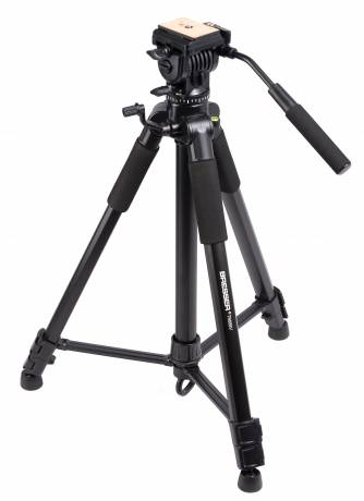 BRESSER TR-688V video tripod with 2-way tilt