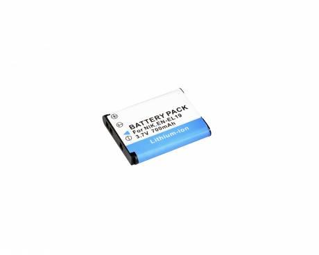 BRESSER Batería de repuesto de iones litio para Nikon EN-EL19