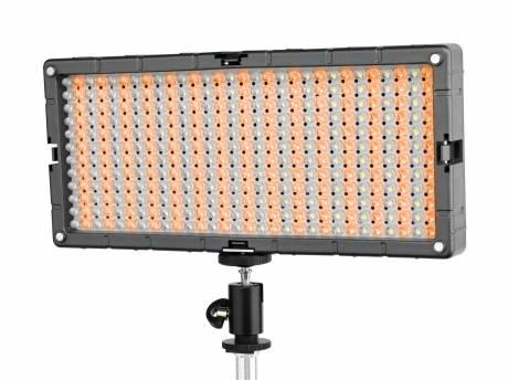 BRESSER LED SL-448-A Lampe de studio Slimline Video 26.9W/1.400LUX Bicolore