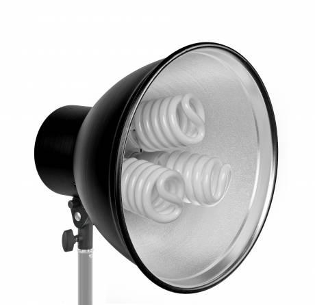 BRESSER MM-12 Portalámparas reflector 31cm para 3 luces