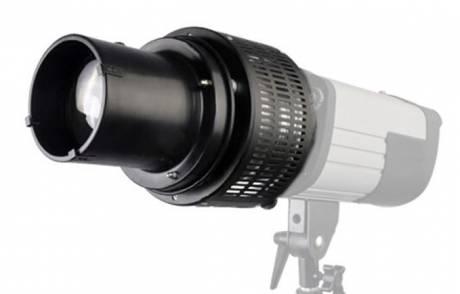 BRESSER M-23 Optischer Spotvorsatz mit Honigwaben und Farb-/Effektfilter