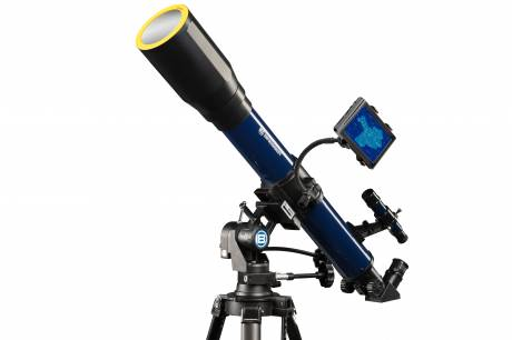 SKYLUX Refractor Telescope 70/700mm with Smartphone Holder and Solar Filter