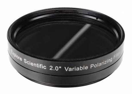 """Filtro polarizzante variabile 2"""" EXPLORE SCIENTIFIC"""
