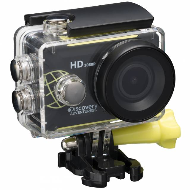 DISCOVERY ADVENTURES Full-HD 1080P Action Camera Scout