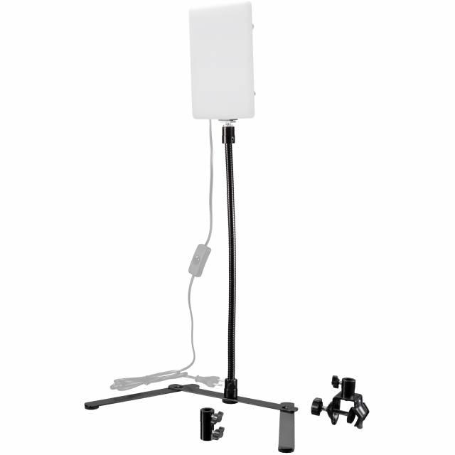 BRESSER BR-Q110 Schwanenhals-Stativ 45 cm für Videoleuchten
