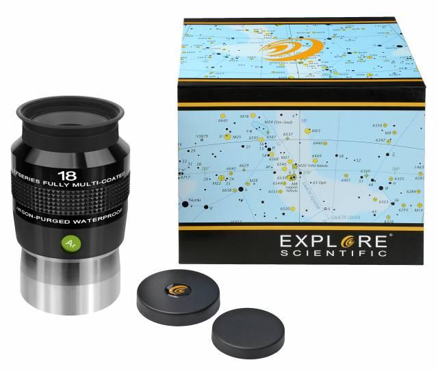 """EXPLORE SCIENTIFIC 82° Ar Okular 18mm (2"""")"""