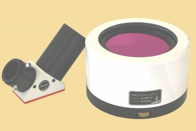 Filtro solare LUNT LS100FHa/B1800d2 H-Alpha