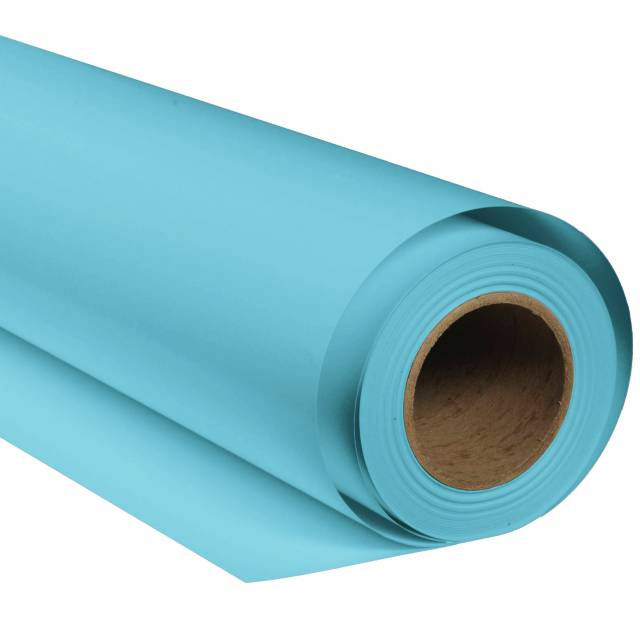 BRESSER SBP20 Papierhintergrundrolle 1,36x11m meeresblau