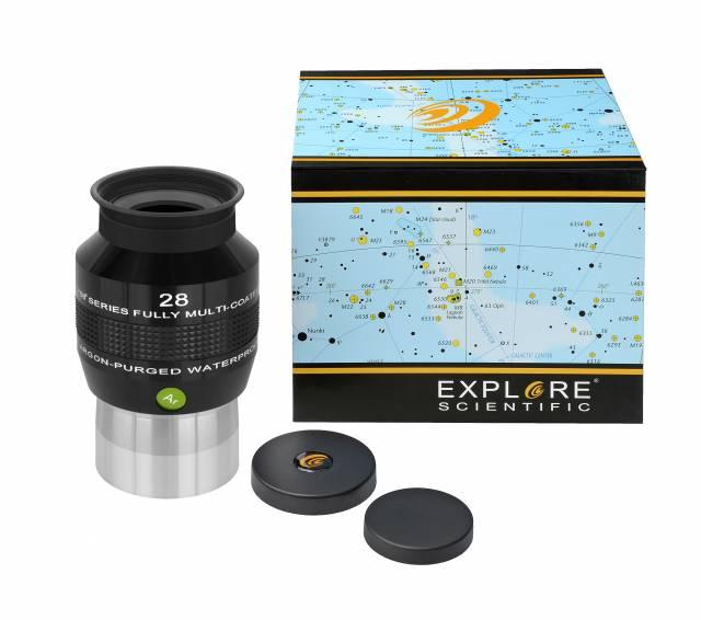 """EXPLORE SCIENTIFIC 68° Ar Oculare 28mm (2"""")"""