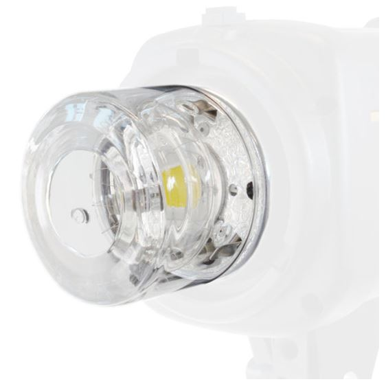 BRESSER Glass Protection Cap for the Studio Flashes of the GM/FM Series