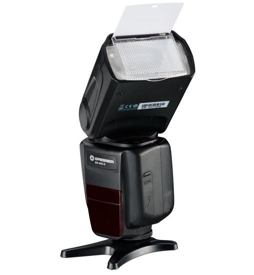 BRESSER BR-600S Aufsteckblitz für Sony Kameras