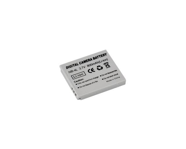 BRESSER Batterie de rechange Lithium-Ion pour Canon NB-4L