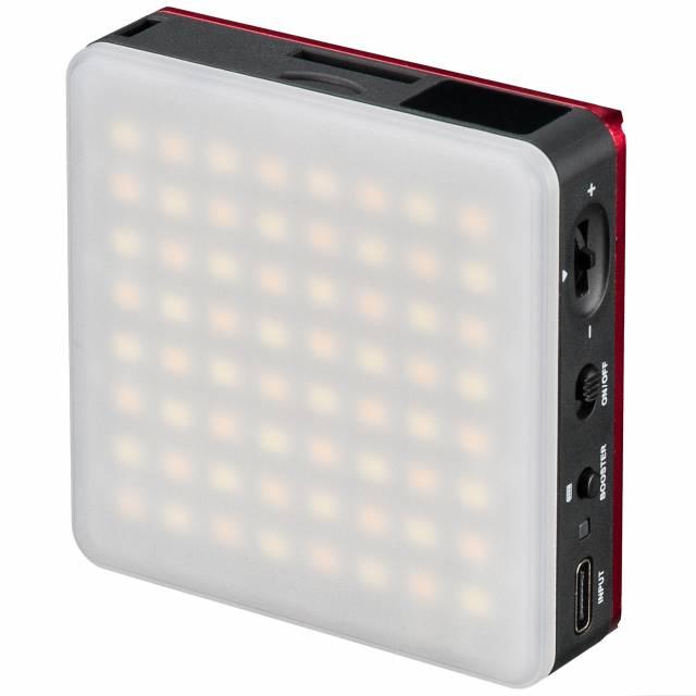 BRESSER Pocket LED 5 W Luz continua bicolor para Uso móvil y Fotografía en Smartphone
