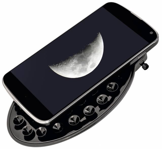 Supporto per smartphone BRESSER per telescopi con oculare da 1,25''