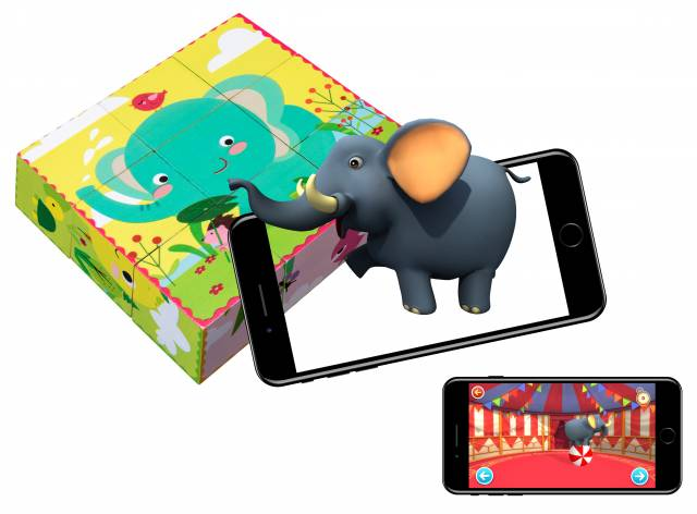 Oregon Scientific Magische Lernblöcke mit erweiterter Realität für Kinder von 3 bis 6 Jahren
