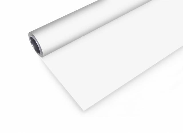 BRESSER Vinyl Background Roll 2.9x8m white