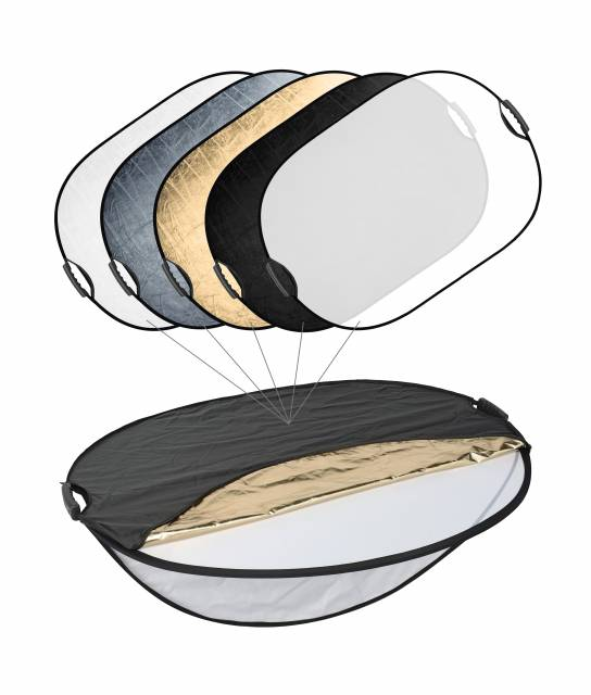BRESSER TR-25 5in1 Collapsible Reflector with Handles 70x110cm