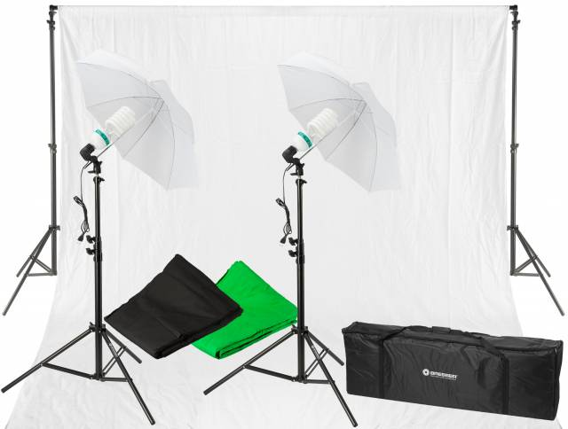 BRESSER BR-2116 Daylight and Background Set 1250W