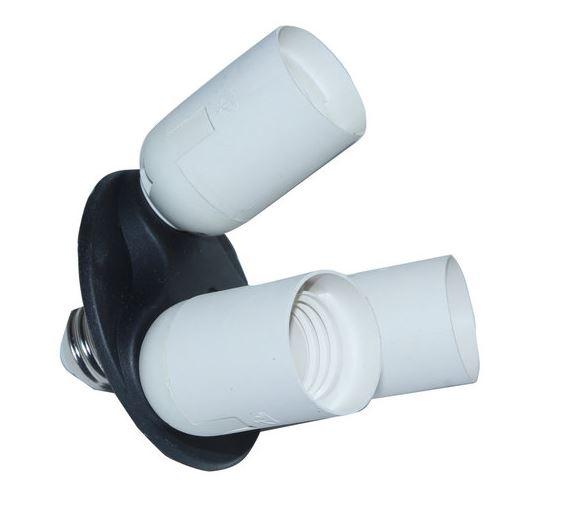 BRESSER BL-LB90 Douille E27 pour 3 Ampoules