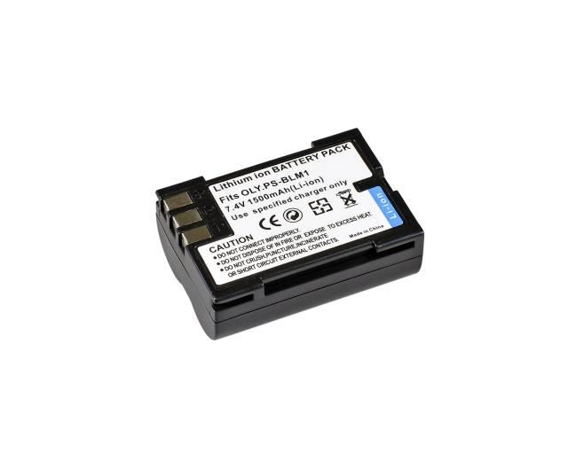 BRESSER Batteria ricaricabile agli ioni di litio / Batteria sostitutiva per Olympus PS-BLM1