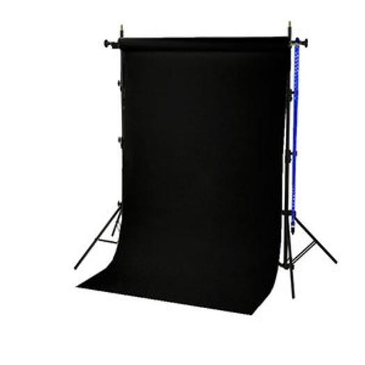 BRESSER BR-TP240 Background System + Paper Roll 1.35x11m black