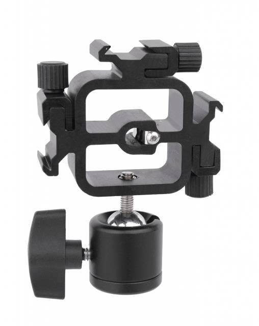 BRESSER JM-38 Blitzhalter für 3 Kamerablitze