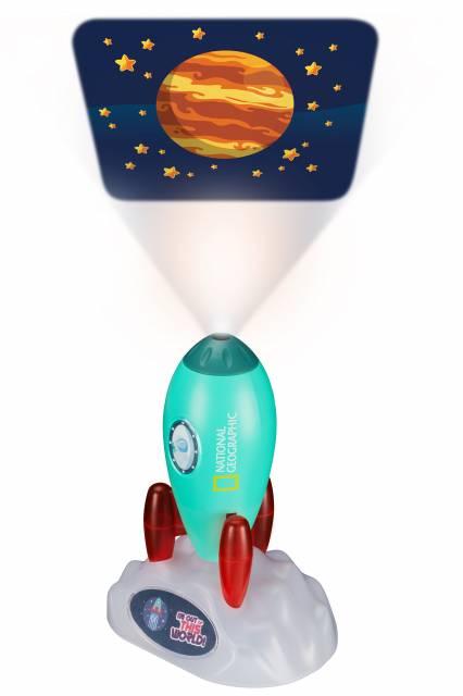 Razzo spaziale NATIONAL GEOGRAPHIC - Proiettore e Luce notturna