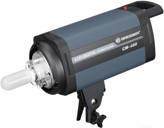 BRESSER Studio Flashlight CM-400 with touchscreen