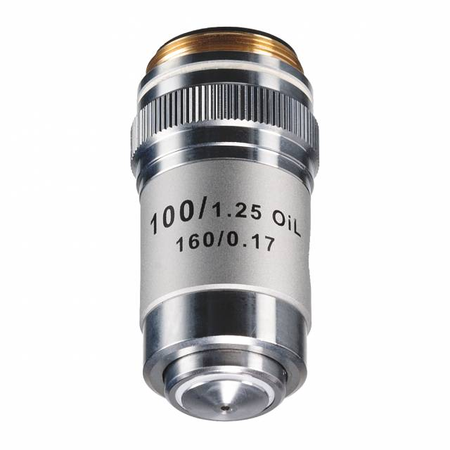 Objectiv, achromatic 100x Oill/1,25 with spring