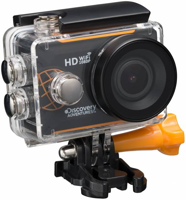 DISCOVERY ADVENTURES Full-HD 1080P WLAN Action Camera Expedition