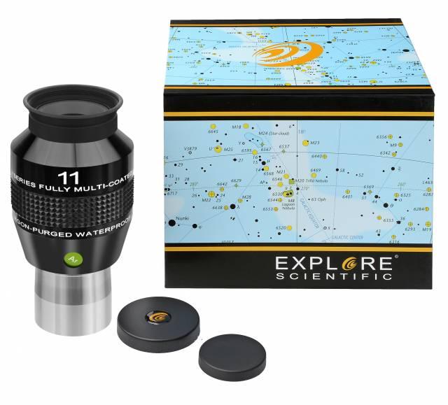 """EXPLORE SCIENTIFIC 82° Ar Eyepiece 11mm (1,25"""")"""