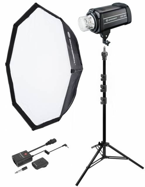 Kit de Flash de Studio BRESSER GM-400