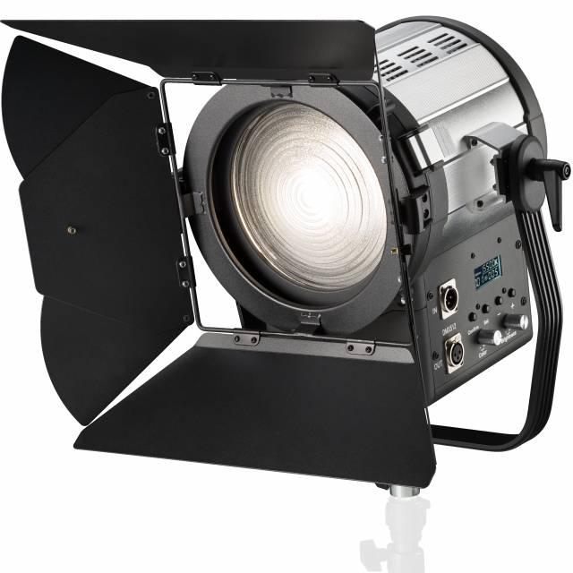 BRESSER SR-1500B LED Fresnel Spotlight BI-Color + DMX + Raffreddamento
