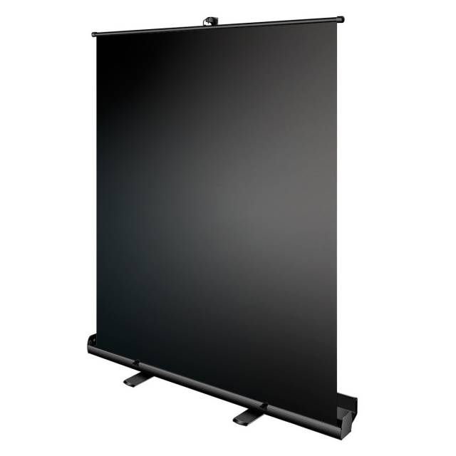 BRESSER portable Roll-up Studio Background 147x190cm black