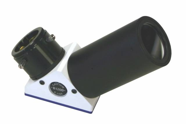 Filtre Ca-K LUNT LS12CaKMDd2 dans renvoi coudé 90°