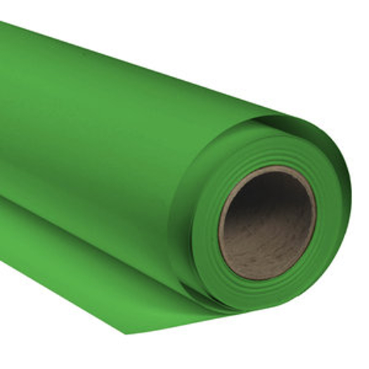 BRESSER SBP10 Papierhintergrundrolle 1,36x11m chromakey grün