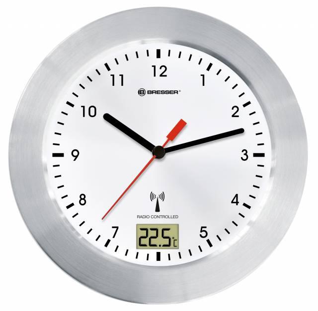 BRESSER MyTime Bath radio controlled Clock white