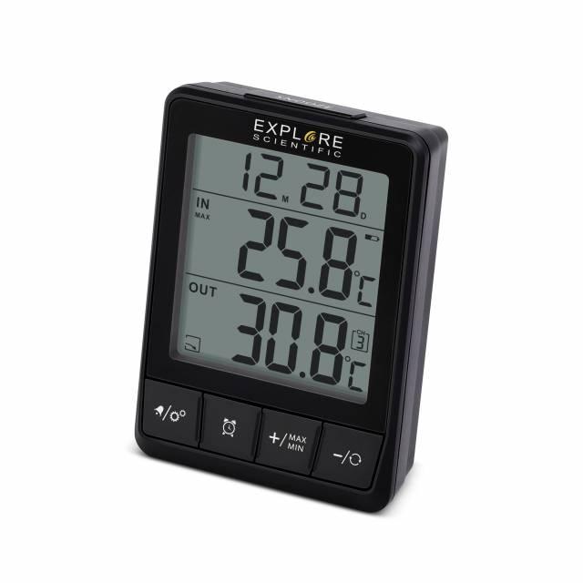 EXPLORE SCIENTIFIC Funktemperaturstation – Thermometer