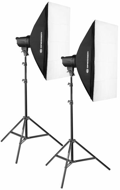 Set flash da studio BRESSER BRT-200 Nr. 1