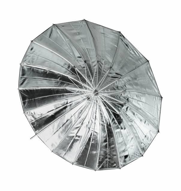 BRESSER SM-09 Jumbo Paraplu 162 cm zilver/zwart