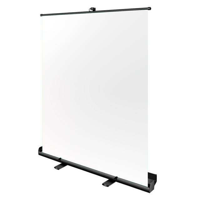BRESSER portable Roll-up Studio Background 147x190cm white