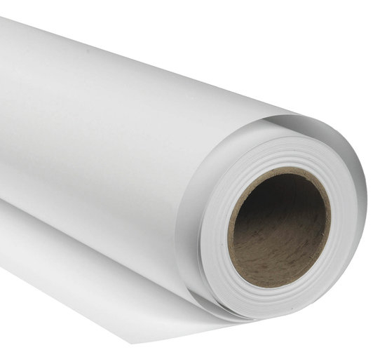BRESSER SBP08 Paper Background Roll 1.36x11m arctic white