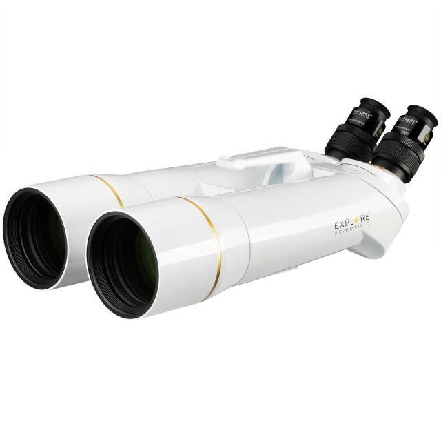 EXPLORE SCIENTIFIC BT-82 SF Binocular gigante con oculares de 62° LER 20mm