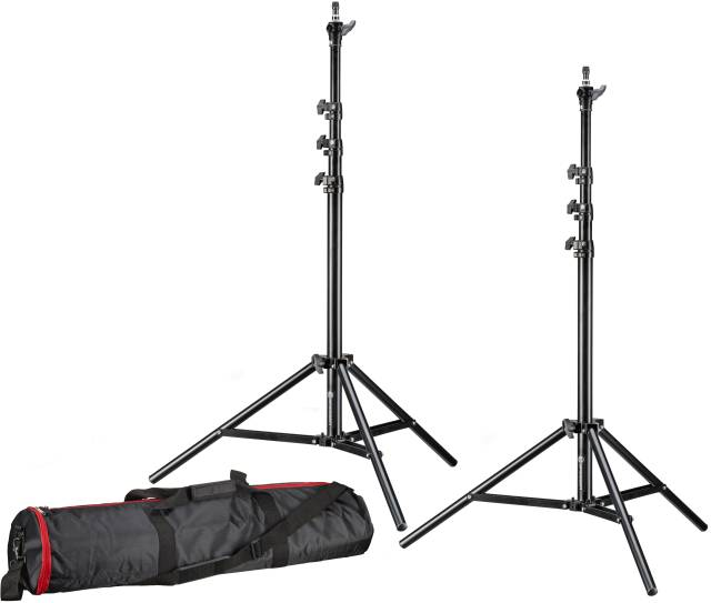 BRESSER 2x BR-TP240 PRO-1 tripod (240 cm) + bag