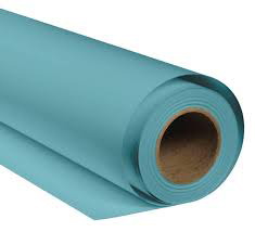 BRESSER SBP18 Fondale in Carta 2,72x11m blu