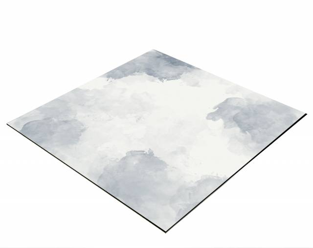BRESSER Flat Lay Background for Tabletop Photography 40x40cm grey Clouds