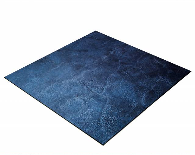 BRESSER Flat Lay Background for Tabletop Photography 40x40cm Abstract Dark Blue