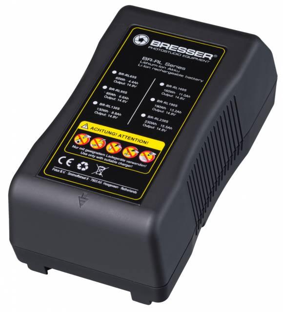 BRESSER BR-RL130S V-Lock accumulatore , 8.8Ah, 14.8V