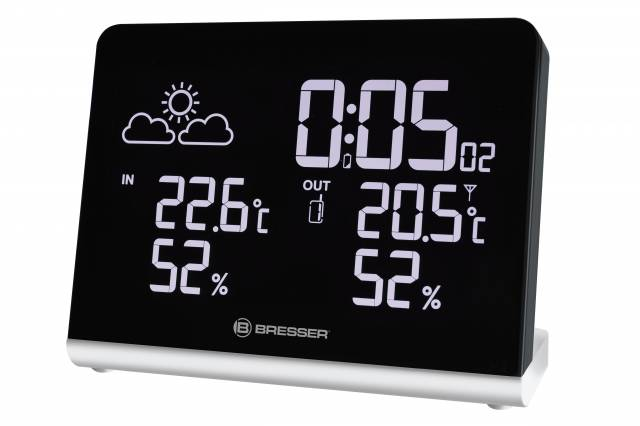 BRESSER ClimaTemp TB Radio controlled Weather Station