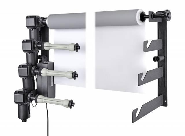 BRESSER MB-4Y Electric Suspension System for 4 paper backgrounds